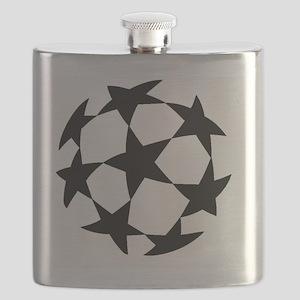 Uefa Champion League logo Flask