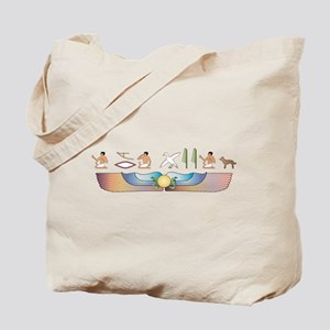 Kelpie Hieroglyphs Tote Bag