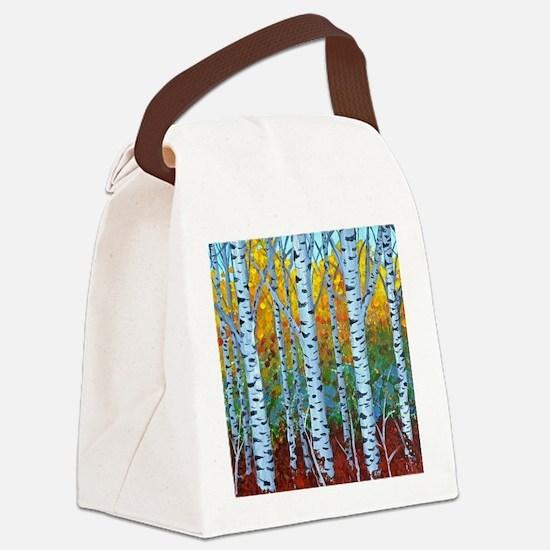 Aspen Trees Canvas Lunch Bag