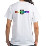 AWC Oil Painter U White T-Shirt