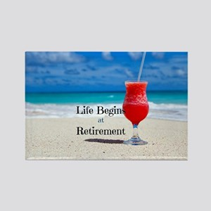 Retirement Rectangle Magnet