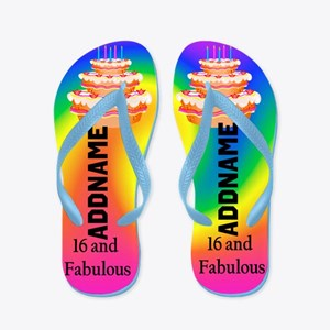 Trendy 16th Flip Flops