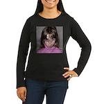 Young at Heart Women's Long Sleeve Dark T-Shirt
