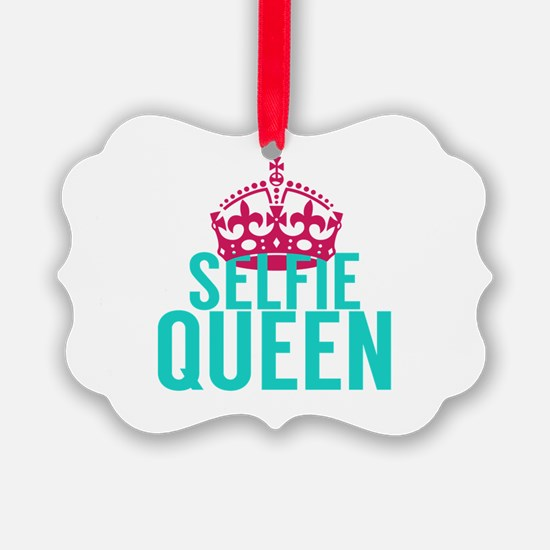 Selfie Queen Ornament