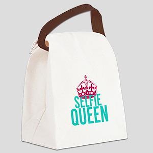 Selfie Queen Canvas Lunch Bag