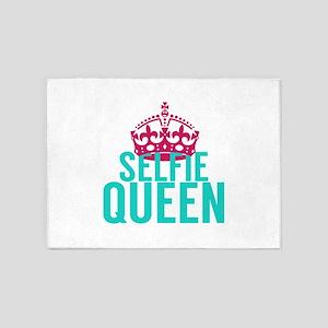 Selfie Queen 5'x7'Area Rug