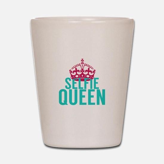 Selfie Queen Shot Glass