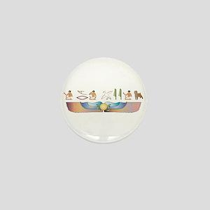 Affenpinscher Hieroglyphs Mini Button