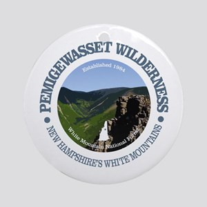 Pemigewasset Wilderness Round Ornament