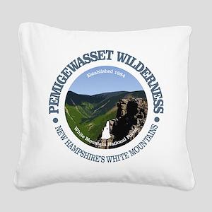 Pemigewasset Wilderness Square Canvas Pillow