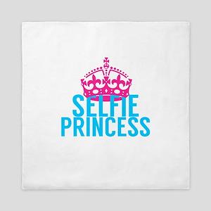 Selfie Princess Queen Duvet
