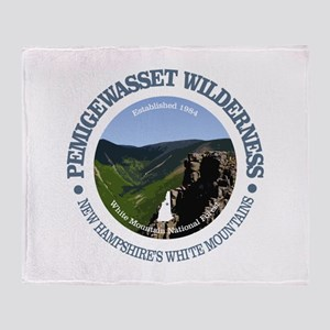 Pemigewasset Wilderness Throw Blanket
