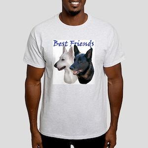 BEST FRIENDS/bhymer.com Ash Grey T-Shirt