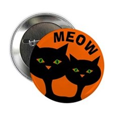 Halloween: Black Cats Button
