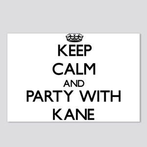 Keep calm and Party with Kane Postcards (Package o