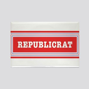 Republicrat Swing Vote Rectangle Magnet