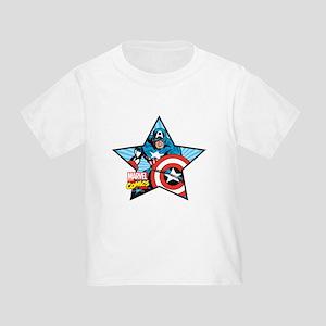 Captain America Star Toddler T-Shirt