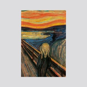 The Scream - Der Schrei der Natur Rectangle Magnet