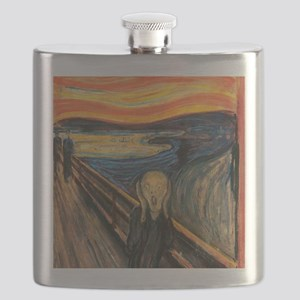The Scream - Der Schrei der Natur Flask