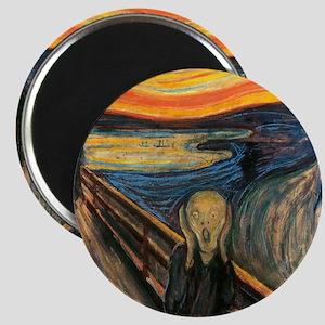 The Scream - Der Schrei der Natur Magnet