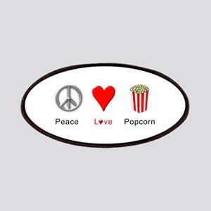 Peace Love Popcorn Patches