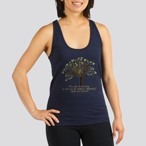 The Art Of Teaching Racerback Tank Top