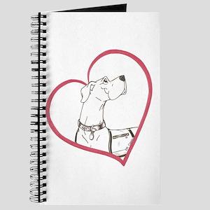 N Vest Dog Heartline Journal