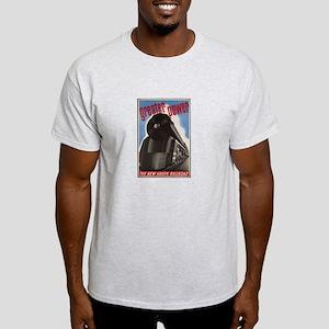 Great Power Train Vintage Art T-Shirt