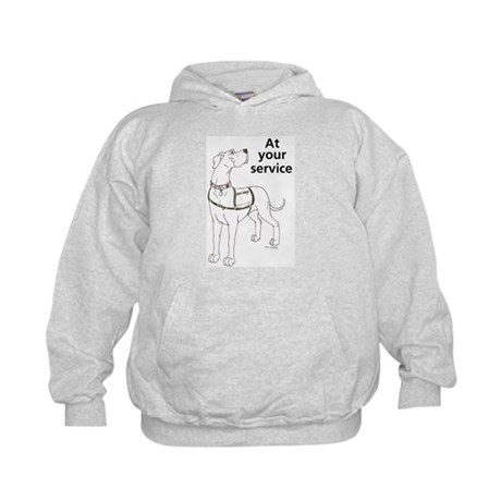 Nvest At Your Sevice Kids Hoodie