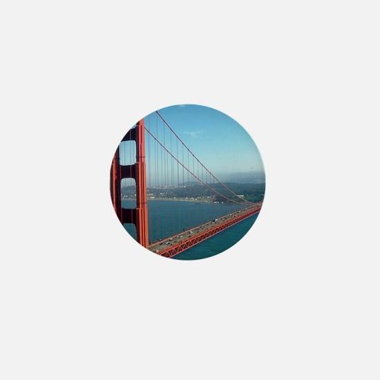Cute Golden gate bridge Mini Button