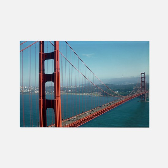 Cute Golden gate bridge Rectangle Magnet