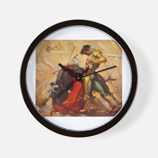 Matador Vintage Art Wall Clock