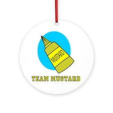 Team Mustard Ornament (Round)
