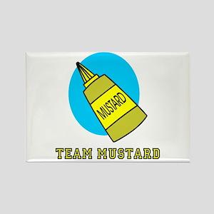 Team Mustard Rectangle Magnet