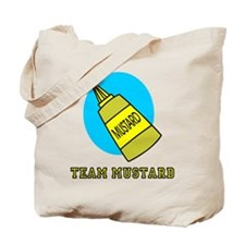 Team Mustard Tote Bag