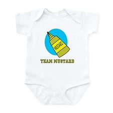 Team Mustard Infant Bodysuit