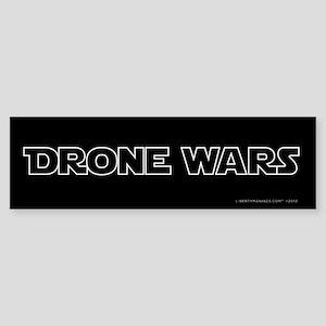 Drone Wars Bumper Sticker