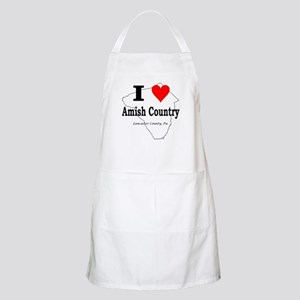 I Love Amish BBQ Apron