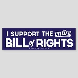 Bill of Rights Bumper Sticker