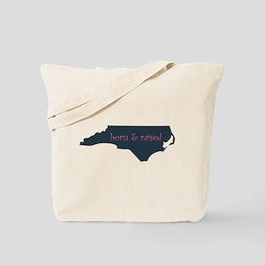NC Born & Raised Tote Bag