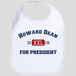 Howard Dean for President Bib