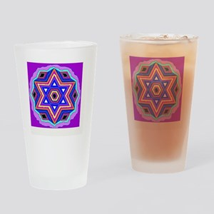 Jewish Star of David. Drinking Glass
