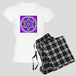 Jewish Star of David. Women's Light Pajamas