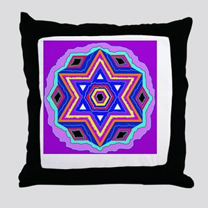 Jewish Star of David. Throw Pillow