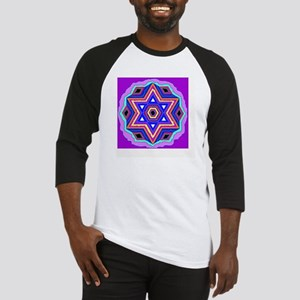 Jewish Star of David. Baseball Jersey
