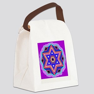 Jewish Star of David. Canvas Lunch Bag