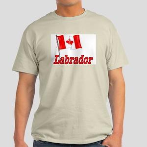 Canada Flag - Labrador  Light T-Shirt