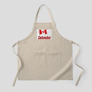 Canada Flag - Labrador  BBQ Apron