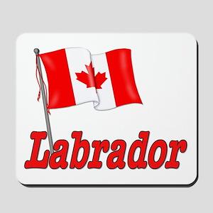Canada Flag - Labrador  Mousepad