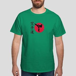 Chinese Karate fighter Dark T-Shirt